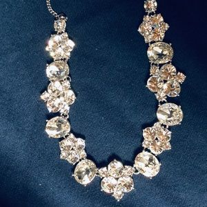 Givenchy multi-crystal statement necklace 💎